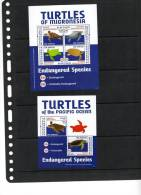 MICRONESIA,2012,TURTLES, SHEETLET+S/SHEET,MNH, - Schildpadden