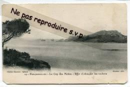 - 19 - Ile De Porquerolles, Le Cap Des Mèdes, Effet D´obus Sur Les Rochers, écrite, 1909, Cachet Magnifique, Voir Sans. - Porquerolles