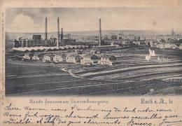 Luxembourg - Eisch - Usine Sidérurgie - Marque Postale 1899 - Esch-Alzette
