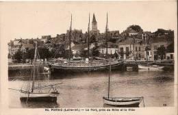 Pornic - Le Port, Près Du Môle Et La Ville - Pornic