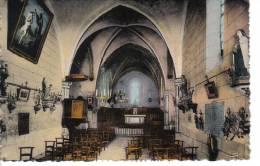 CUBLAC (19) - CPA - L'intérieur De L'église - France