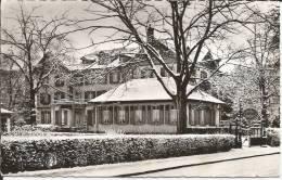 """Cpsm, Munster (Haut-Rhin), Maison Familiale De Vacances """"Grand´Hôtel"""" (sous La Neige) - Munster"""