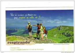 43.- RESPIRANDO . Panorama Depuis Le Sommet Du Mezenc - France