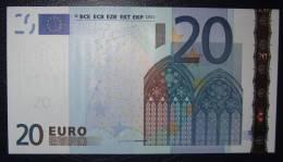 20 EURO G015D4 Slovakia  Serie E  Perfect UNC - EURO