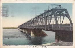 Canada Quebec Montreal Victoria Bridge 1926