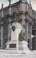 Canada Quebec Montreal Bourget Monument 1908