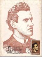 DV 1109) Rumänien Roumania MiNr 3823 MK: 100. Todestag Ciprian Porumbescu, SSt Sugeava 5.6.1983, Maschinenstempel !!! - Music