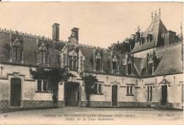 Cpa80 Chateau De Régnière Ecluse Cour Intérieure - France