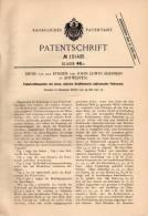 Original Patentschrift - D. Van Den Eynden In Antwerpen , 1901 , Federkraftmaschine !!! - Machines
