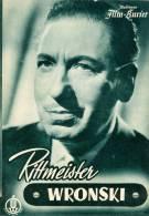 IFK 2037 Rittmeister Wronski 1954 Willy Birgel Elisabeth Flickenschildt Steppat - Zeitschriften