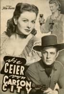 IFK 2144 Die Geier Von Carson City 1955 City Of Bad Men Western Jeanne Crain - Zeitschriften