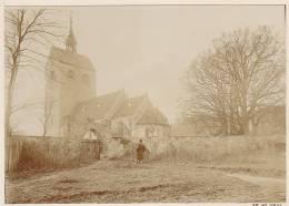 Messdorf, Bismark, Landkreis Stendal, Sachsen-Anhalt, Kirche, FOTO Von 1911, Original - Orte