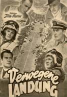 IFK 2212 Verwegene Landung 1955 Men Of The Fighting Lady Korea Van Johnson USA - Zeitschriften