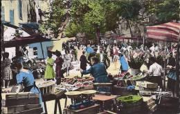 Cpsm Toulon, Le Marché, Très Animé - Toulon