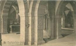 MAREDSOUS - Eglise Abbatiale - Crypte Sour Le Choeur Des Moines (Nels, Reproduction Interdite N° 31a) - Non Classés