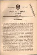 Original Patentschrift - E. Schneider In Kiel , 1900 , Luftschiff Mit Schlagflügeln , Flugzeug !!! - Fliegerei