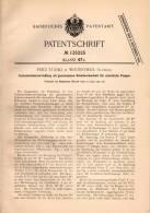 Original Patentschrift - Fritz Stähli In Winterthur , 1901 , Central - Schmierapparat Für Pumpen !!! - Machines