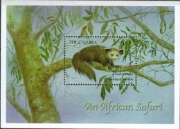 Gambia 2000, Animals, Michel BL448, MNH 18236 - Otros