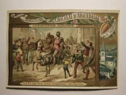 Chromo 99-32 - CHOCOLAT - Monastère De Notre Dame D´Aiguebelle - Christophe Colomb - Juan Perez Entre Dans Barcelone - Cromos