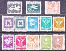 Bulgaria  C 41-53  * - Airmail