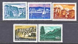 Bulgaria  C 86-90   **  * - Airmail