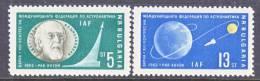 Bulgaria  C 92-3  *  SPACE - Airmail
