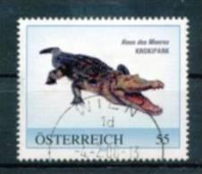 "ÖSTERREICH Personalisierte Marke "" Krokodil "" - Used - Österreich"