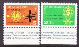 Bulgaria  1218-9   *   WHO - Bulgaria