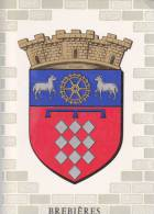 ¤¤  -  BREBIERES  -  Blason  -  Ecusson  -  Héraldisme  -  ¤¤ - France