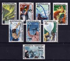 Australian Antarctic Territory - 1966/68 - Definitives (Part Set) - Used - Oblitérés