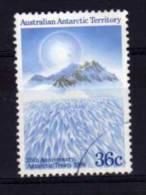 Australian Antarctic Territory - 1986 - 25th Anniversary Of Antarctic Treaty - Used - Oblitérés