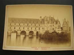 Photo -photographie -ref 122- Chateau De Chenonceaux - Indre Et Loire - Facade Orientale  - Photo Bon Etat- - Foto's