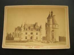 Photo -photographie -ref 120- Chateau De Chenonceaux - Indre Et Loire -entree Principale  - Photo Bon Etat- - Old (before 1900)