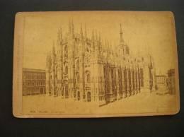 Photo -photographie -ref 113- Milan - Italie - La Cathedrale - Giacomo Brogi Photographe -editeur - - Photos