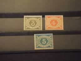 IRLANDA - TASSE 1978 CIFRA 3 Valori - NUOVI(++) - Segnatasse