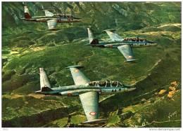 "CPM  -  FOUGA   C.M   170-R   "" MAGISTER ""    ( Potez - Air - Fouga ) - 1946-....: Ere Moderne"