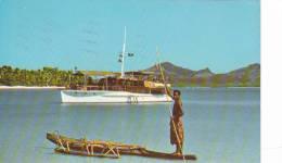 20781 Bateau Piroge - Iles Fidji , Blue Lagoon, Yasawa Group, Takia -1052 LDT Suva