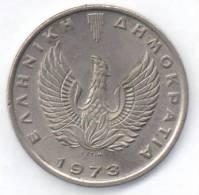 GRECIA 10 DRACHMAI 1973 - Grecia