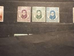 IRLANDA - 1929 O. CONNEL 3 Valori - NUOVI(+/++) - 1922-37 Stato Libero D'Irlanda