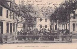 ¤¤  -    BETHUNE   -  Pensionnat De Mlle Degez  -  Grande Cour   -   ¤¤ - Bethune