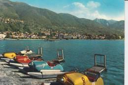 TRETBOOTE - PEDALOS - WATERFIETS - Locarno / Tessin - Ansichtskarten