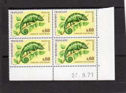 France Bloc De 4 TP  Coin Daté N°1692 - 1940-1949