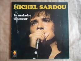 MICHEL SARDOU  // LA MALADIE D'AMOUR - VINYLE 33 T - Autres - Musique Française