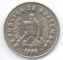 GUATEMALA 5 CENTAVOS 1986 - Guatemala