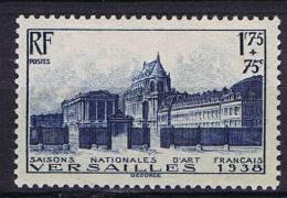 France: Yv 379, Mi 422 , 1938, Neuf **/MNH
