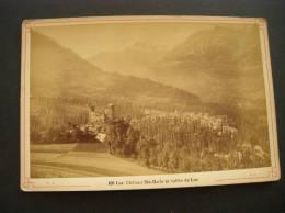 Photo - Photographie -ref 63- Luz -chateau Ste Marie Et Vallee De Luz -hautes Pyrenees  - Photo Bon Etat   - - Lieux