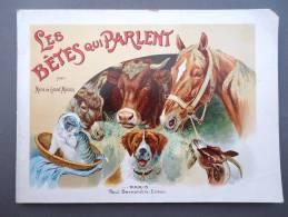 ENFANTINA - Marie de Grand�Maison - Les B�tes qui parlent  - Paris Paul Bernardin Editeur -