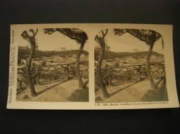Photo -photographie -vue Stéréoscopique -stereo - Ref 30- Biarritz -attalaye Et Le Port Des Pecheurs Vu De Basta - Photos Stéréoscopiques