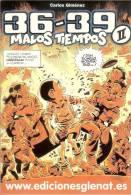 Afiche-Addesivo-36-39 MALOS TIEMPOS-de Carlos Gimenez - Autocollants