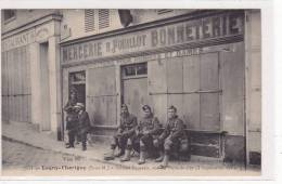 77 - LAGNY -THORIGNY - SOLDATS ECOSSAIS RUE DU PONT DE FER - Lagny Sur Marne